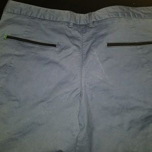 Hugo Boss Shorts - Hugo Boss light blue 36 Regular fit polo shorts